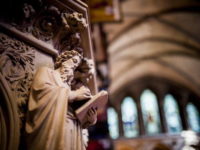 Thủ đô trung tâm Dublin là nơi tập trung nhiều nhà thờ ấn tượng trong đó phải kể đến là nhà thờ St. Patrick.