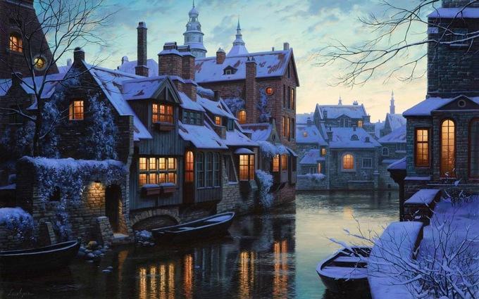 Bruges, BỉBruges, thủ phủ của West Flanders, nằm ở phía tây bắc nước Bỉ. Nơi đây nổi tiếng với các kênh rạch đẹp, nhiều tòa nhà trung cổ và ít ôtô. Điểm đến này thu hút đông du khách trong dịp Giáng sinh nhờ những sân băng lấp lánh, rượu nho, bia và những viên chocolate ngon hàng đầu thế giới.