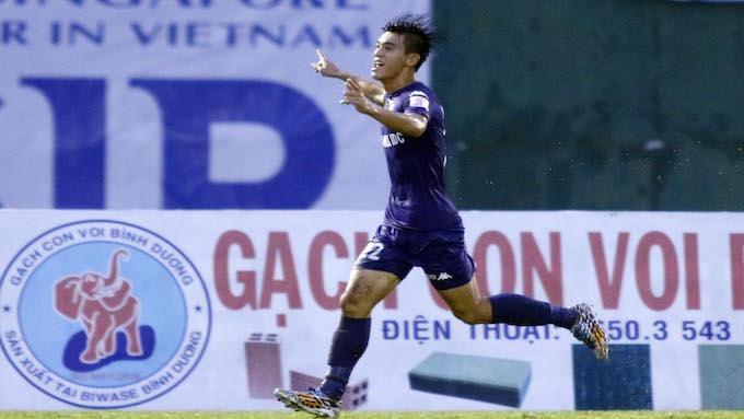 Tiến Linh đang thể hiện phong độ ấn tượng tại V-League. Ảnh: Bongdaplus.