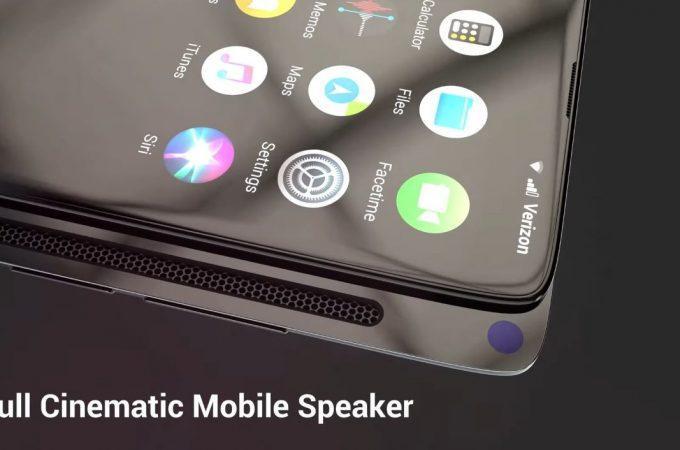 Để tối ưu không gian hiển thị mặt trước, iPhone Xslide cũng sử dụng thiết kế thanh trượt giống như Mi MIX 3 hay OPPO Find X.