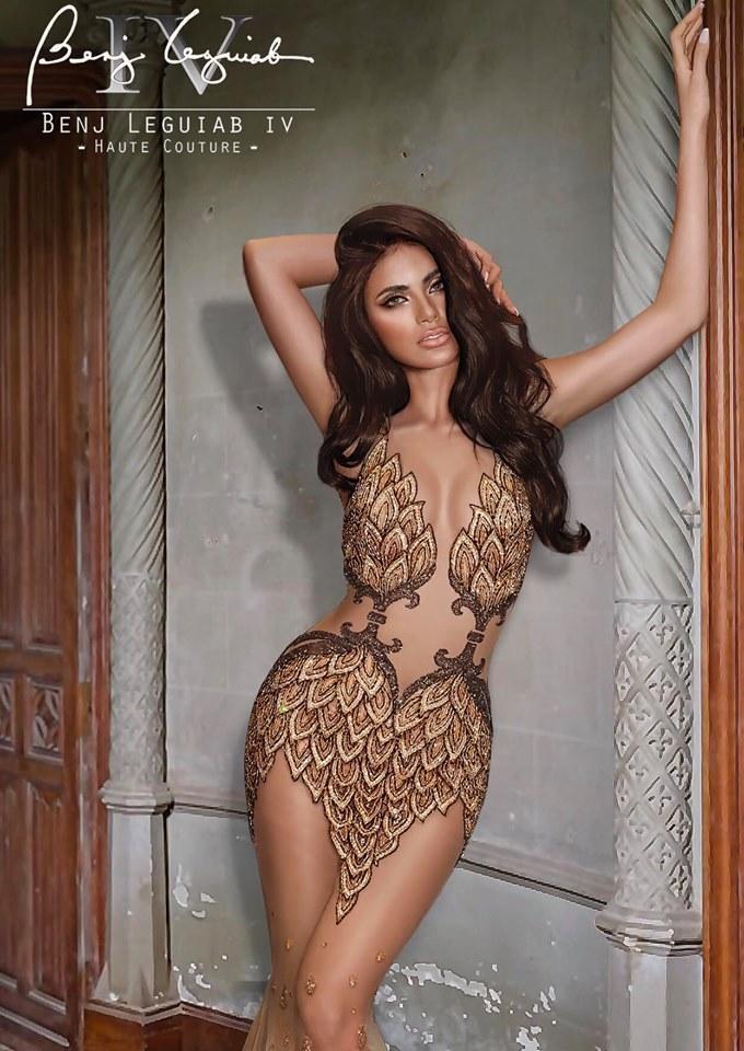 """Sát sao ở vị trí thứ hai là đại diện của cường quốc Hoa hậu Châu Á - Philippines.Gazini Ganados được dự đoán sẽ """"bùng nổ"""" mạnh mẽ khi cuộc thi diễn ra."""