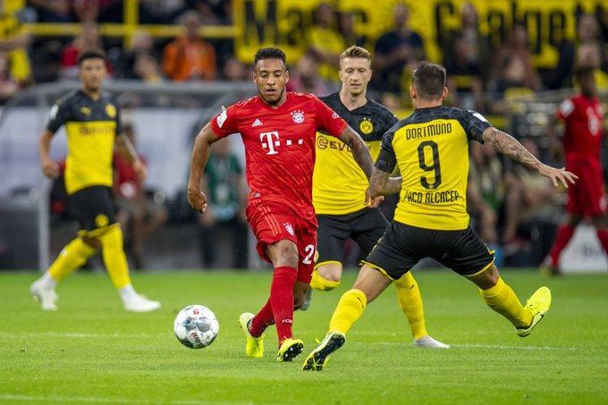 Đương kim vô địch Bundesliga - Bayern Munchen chẳng thể tỏ ra lép vế hơn Dortmund.