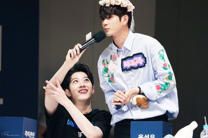 KuanLin và Ong Seongwu.