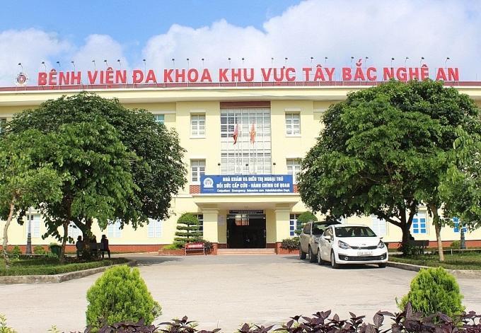 Bệnh viện đa khoa khu vực Tây Bắc Nghệ An