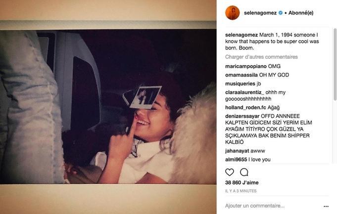 Selena Gomez đã xóa tấm ảnh cuối cùng của Justin Bieber mà cô đăng tải trên Instagram.