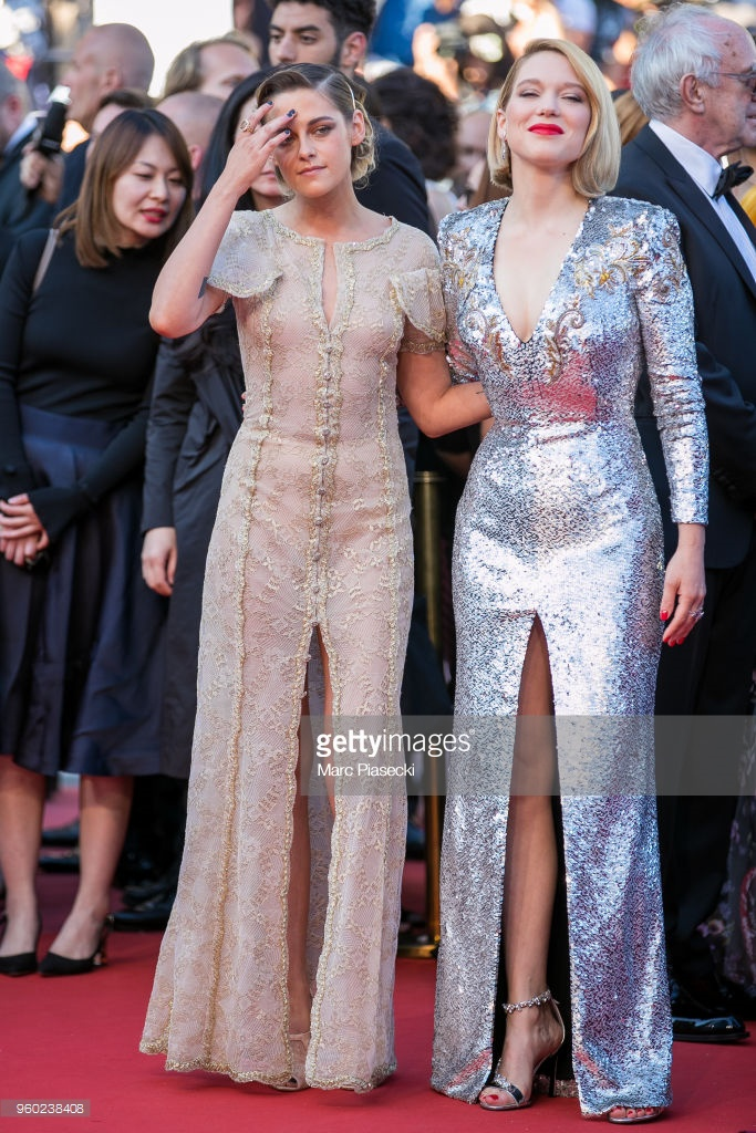 Kristen Stewart và Lea Seydoux