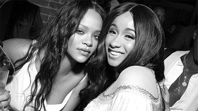 Cuối cùng Cardi B cũng kéo Rihanna về lại với âm nhạc sau thời gian chăm làm beauty blogger ảnh 4
