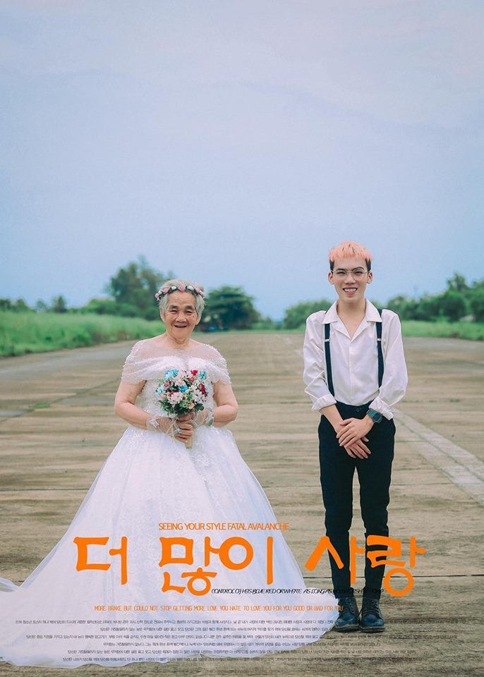 Xúc động bộ ảnh cưới bà nội  cháu trai: Đời người con gái đẹp nhất là khi khoác lên mình bộ váy cưới ảnh 19