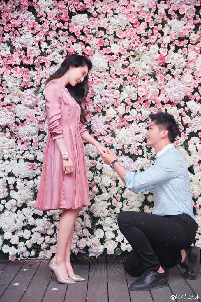 Lý Thần cầu hôn Phạm Băng Băng đúng vào ngày sinh nhật lần thứ 36 của cô