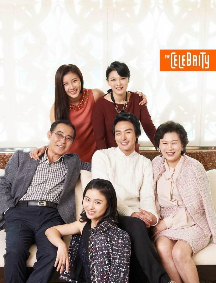Gia đình hạnh phúc của Jeon Tae Soo bên người chị nổi tiếng Ha Ji Won.