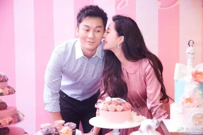 Hình ảnh Lý Thần và Phạm Băng Băng vào ngày sinh nhật của nữ diễn viên cách đây 2 năm trước.