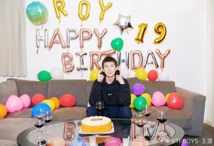Nhận được lời chúc phúc mới nhớ đến ngày sinh nhật của mình, Vương Nguyên nói: Tôi thấy mình thật may mắn ảnh 5