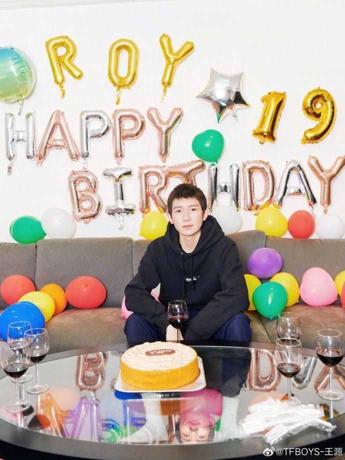 Nhận được lời chúc phúc mới nhớ đến ngày sinh nhật của mình, Vương Nguyên nói: Tôi thấy mình thật may mắn ảnh 6