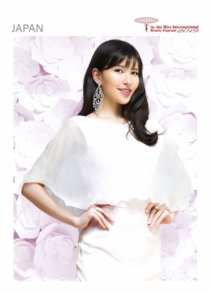 Đại diện nước chủ nhà – Nhật Bản sở hữu nét đẹp nhẹ nhàng, thân thiện nên được rất nhiều fan yêu thích và đánh giá cao.