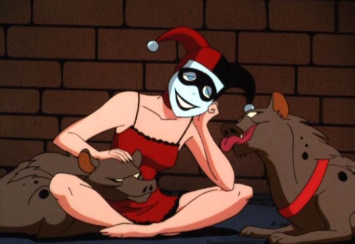 Bud và Lou là hai chú linh cẩu rất được cưng chiều của Harley Quinn.