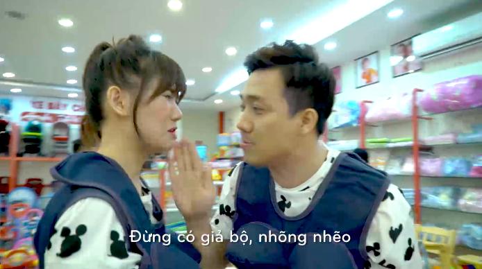 Hari Won quên bẵng mua quần áo cho em bé khiến Trấn Thành hốt hoảng.