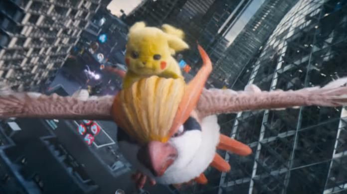 Pidgeot là một trong những cameo đầu tiên xuất hiện đầu tiên trong film