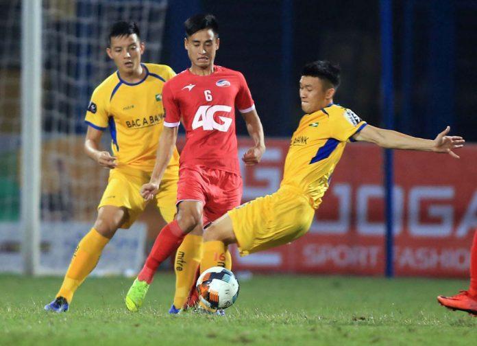 Các cầu thủ Viettel đã cho thấy sự thiếu động lực trong cách thi đấu.
