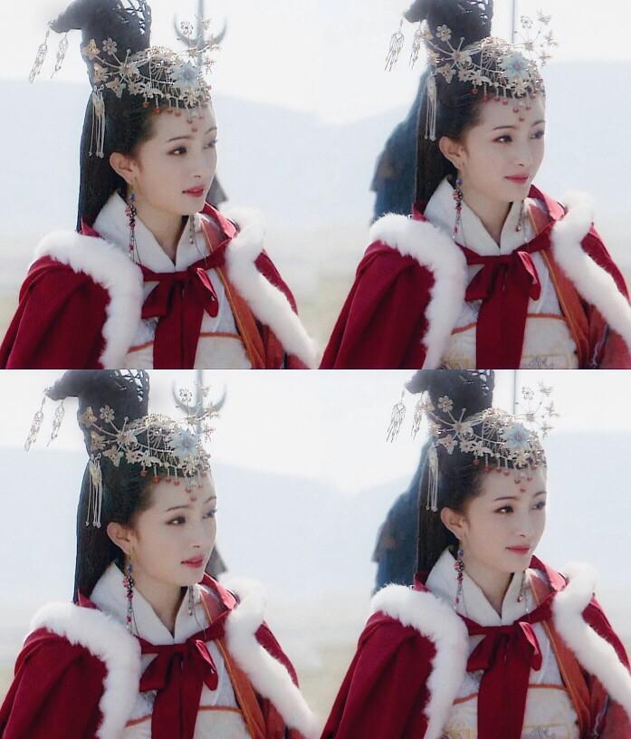 """Một số hình khác trong phim """"Vương Chiêu Quân"""" của Dương Mịch."""