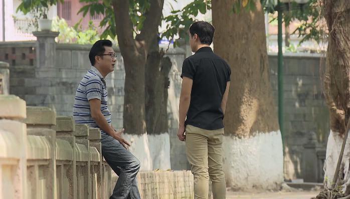 """""""Nàng dâu order"""" gây thích thú vì hai bố con nhà ông Phong rất thân thiết với nhau, thường tâm sự như những người bạn."""