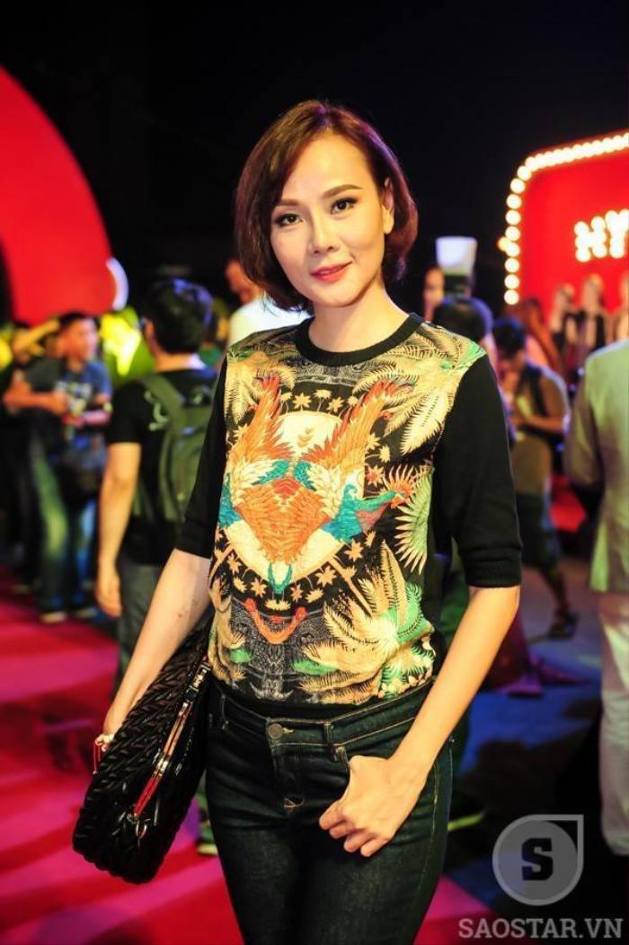 Cựu người mẫu Dương Yến Ngọc.