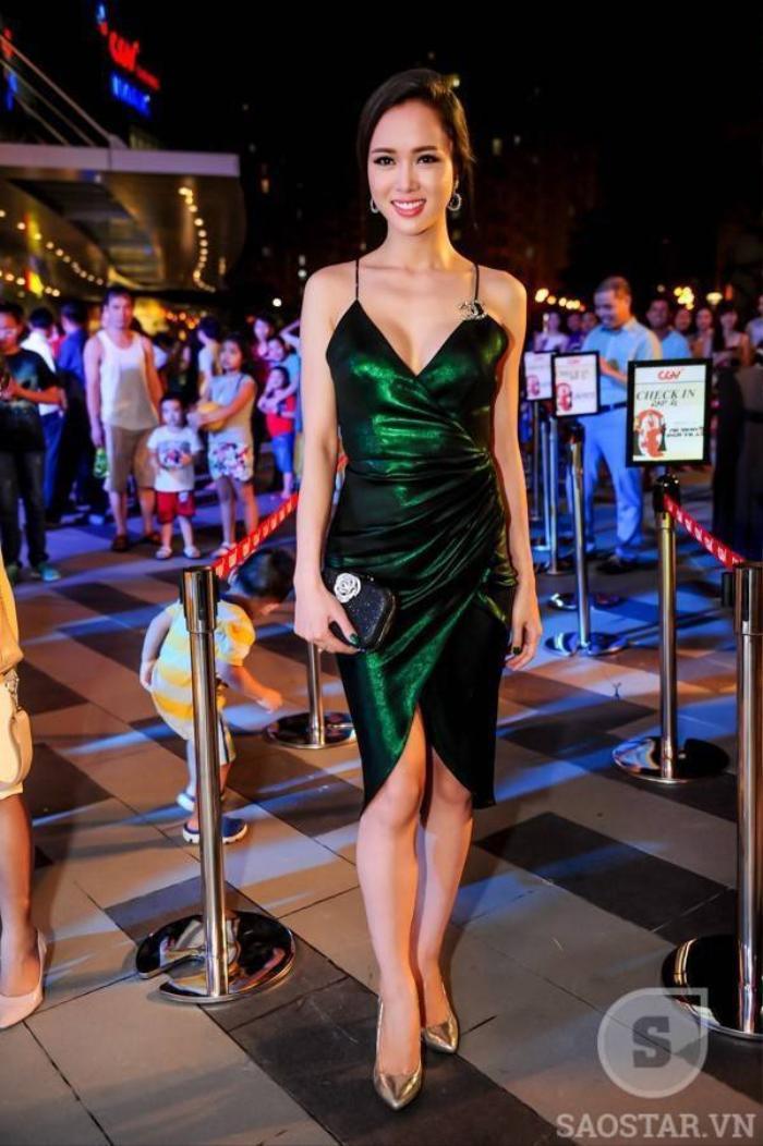 """Vũ Ngọc Anh - Top 5 """"Hoa hậu Việt Nam 2012"""", người tình tin đồn của nhà sản xuất Trần Bảo Sơn."""