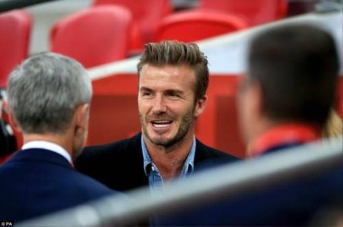 Beckham là người chuẩn bị cho sự kiện này.