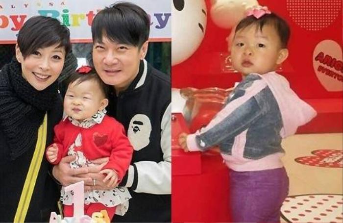 Con gái Tiền Gia Lạc và Thang Doanh Doanh có ngoại hình kém hẳn so với bố mẹ.