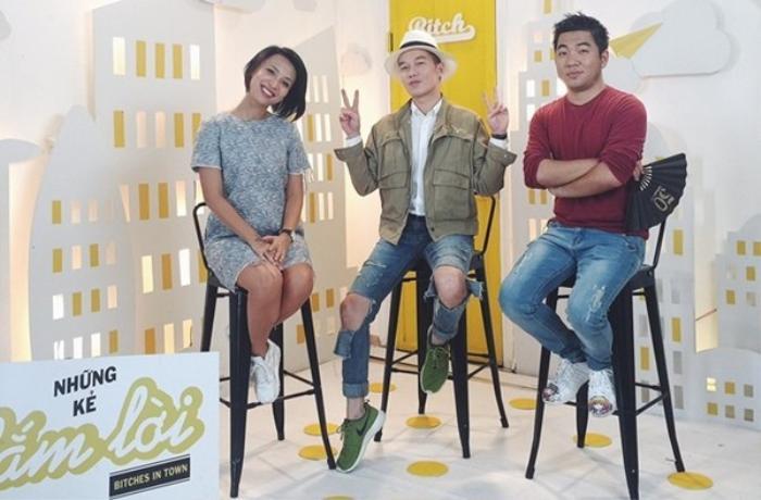 MC Thùy Minh, stylist Lê Minh Ngọc và nhà văn Nguyễn Ngọc Thạch - 3 host quen thuộc của chương trình Bitches in Town.