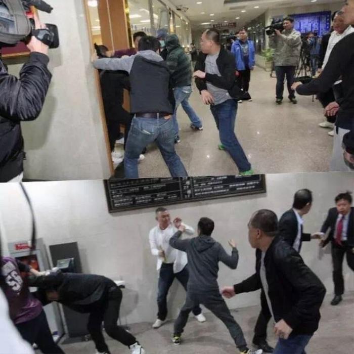 Những hình ảnh ghi lại cho thấy, Kim Cương cùng nhóm bạn xảy ra mâu thuẫn với mội nhóm khác. Hai bên đánh nhau tới tấp và còn sử dụng súng. Cảnh sát thu về 3 băng đạn và 16 viên đạn.