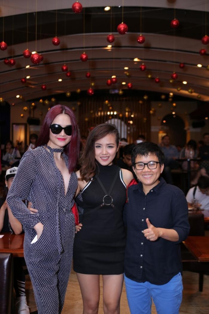 Nhạc sĩ Phương Uyên, Thiều Bảo Trang và Phương Ly