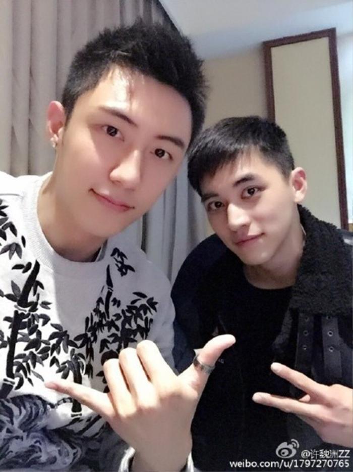 Hứa Ngụy Châu và Hoàng Cảnh Du.