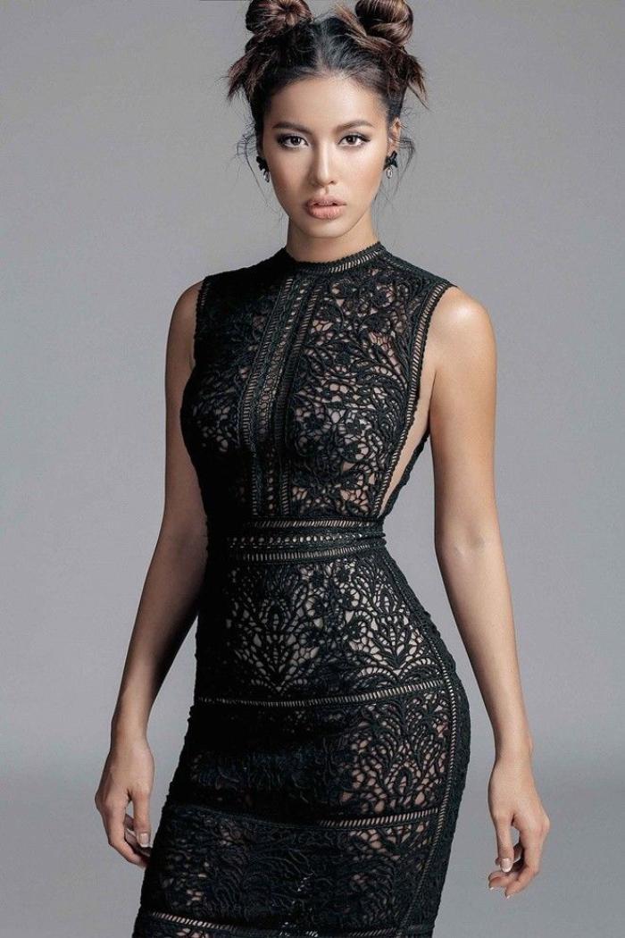 Ren lưới - chất liệu đinh của nhà thiết kế Việt năm 2016