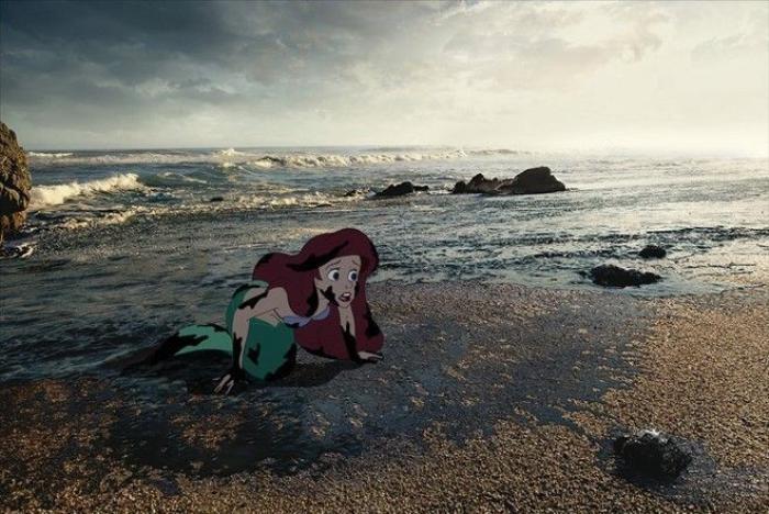 Có vẻ như không chi nàng tiên cá Hà Tĩnh bị ảnh hưởng bởi thủy triều đỏ mà ngay chính nàng bạch tuyết cũng đang cùng chung cảnh khổ.