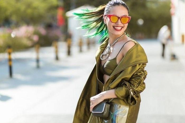 Fashinista Thu Phương thu hút mọi ánh nhìn với shoot hình street style cùng mái tóc nhuộm ombre phần đuôi
