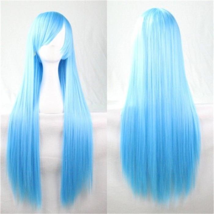 Thông thường bạn nên mua một bộ tóc với đầy đủ chiều dài như thế này để dễ chỉnh sửa cho hợp với khuôn mặt.