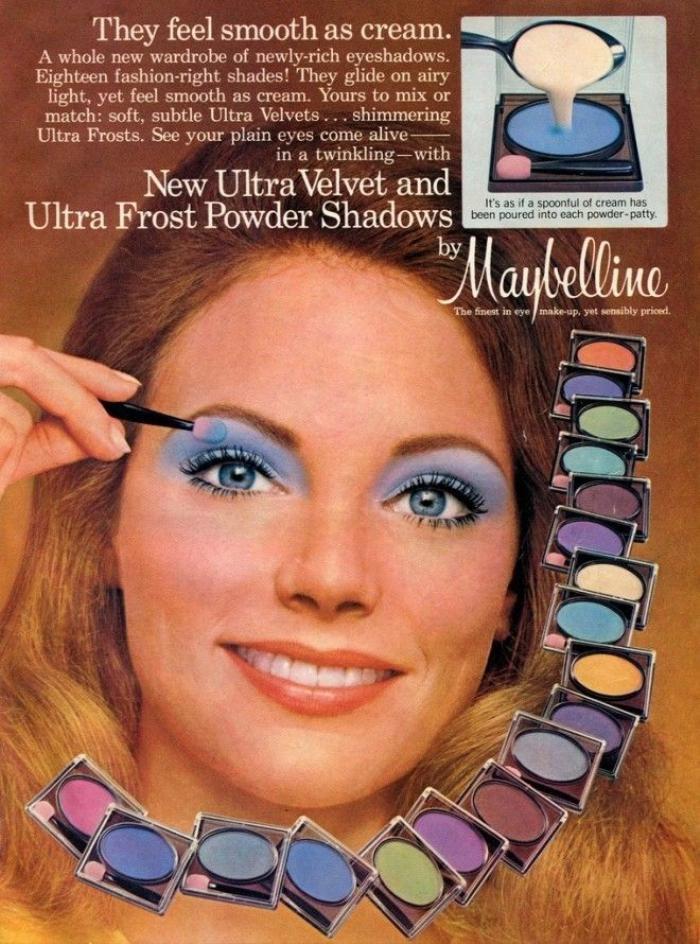 Bảng màu mắt của Maybelline
