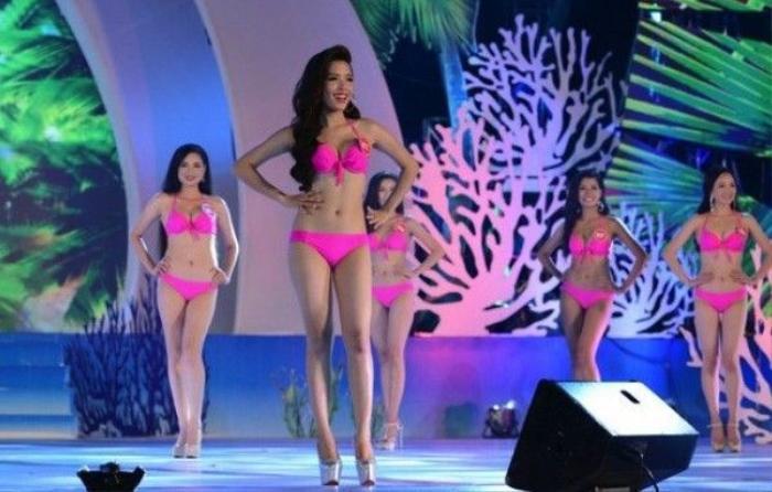 Người đẹp cuộc thi Hoa hậu biển Việt Nam 2016