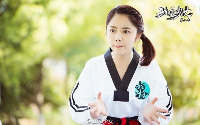 Đàm Tùng Vận nhí nhảnh trong vai Phạm Hiểu Huỳnh.