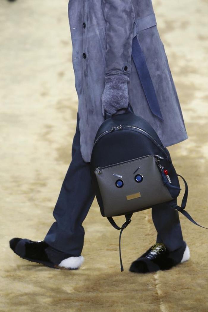 Fendi Fashion Show, Menswear Collection Fall Winter 2016 in London