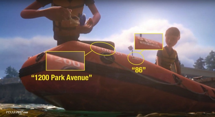 Finding Dory International Pixar Post 1 Easter Egg copy