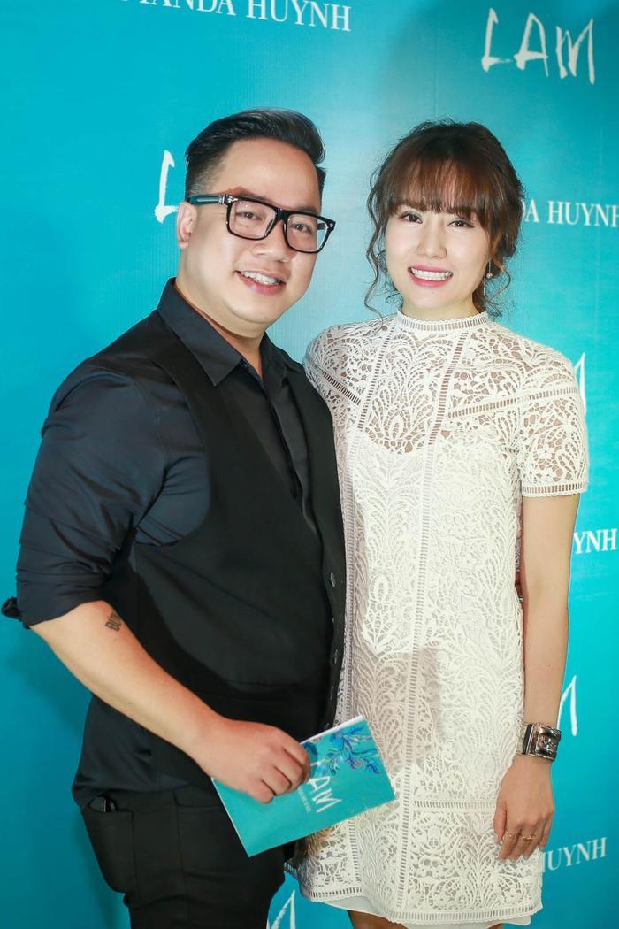 Amanda Huynh va MC Tung Leo
