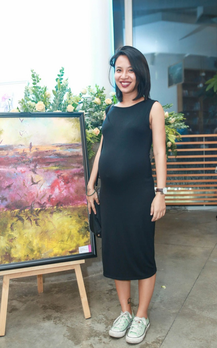 MC Thùy Minh hiện đang mang thai bé thứ hai. Cô làm mẹ đơn thân và đang có cuộc sống hạnh phúc với con trai của mình.