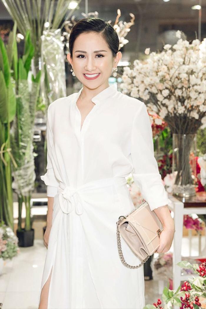 Góp mặt tại sự kiện offline còn có fashionista Trâm Nguyễn.