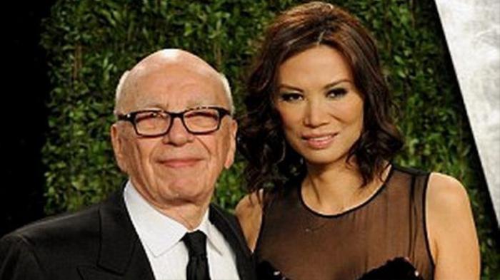 Ông Murdoch và vợ cũ - bà Deng