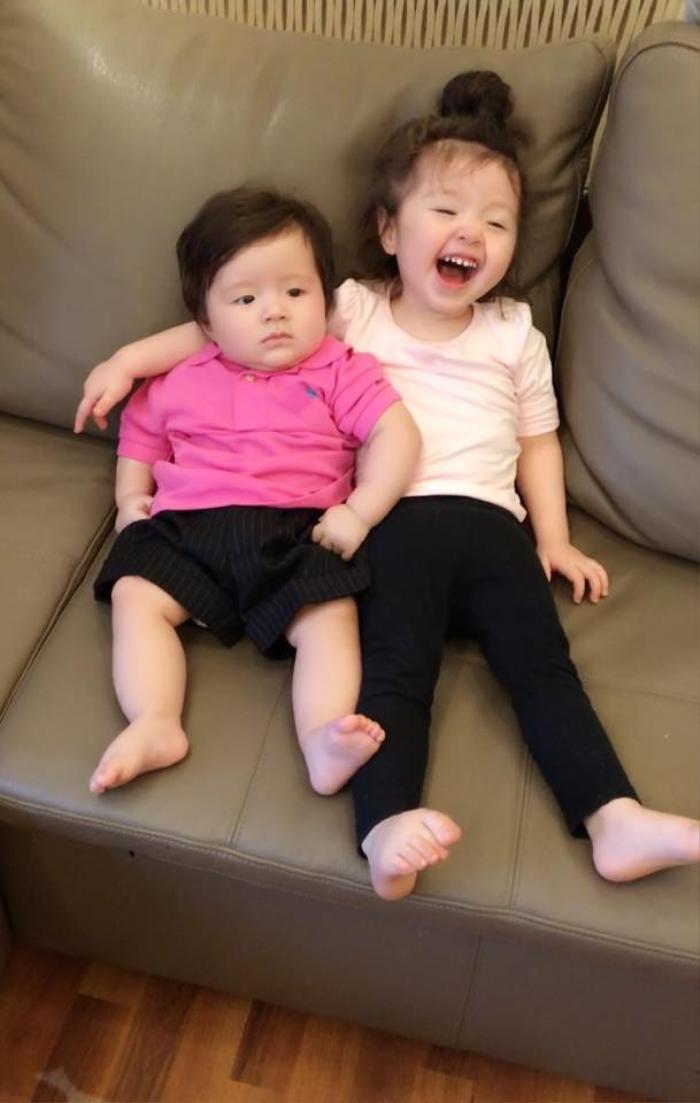 Nụ cười hạnh phúc của Cadie Mộc Trà.