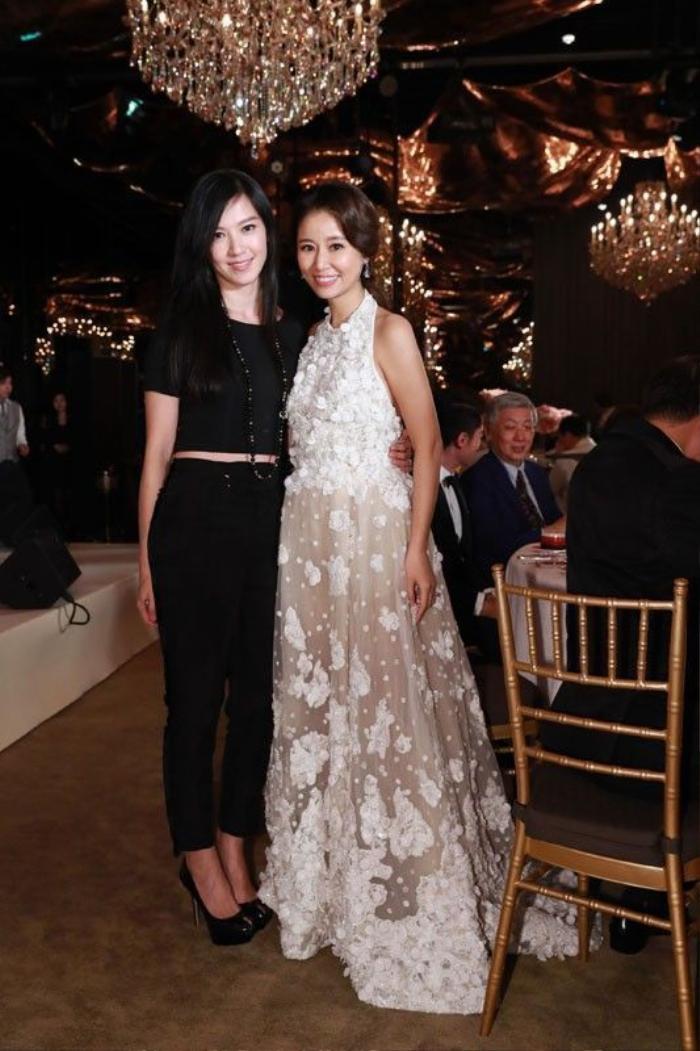 Cô dâu Lâm Tâm Như cảm ơn bạn bè thân thiết đã có mặt tại bữa tiệc này.