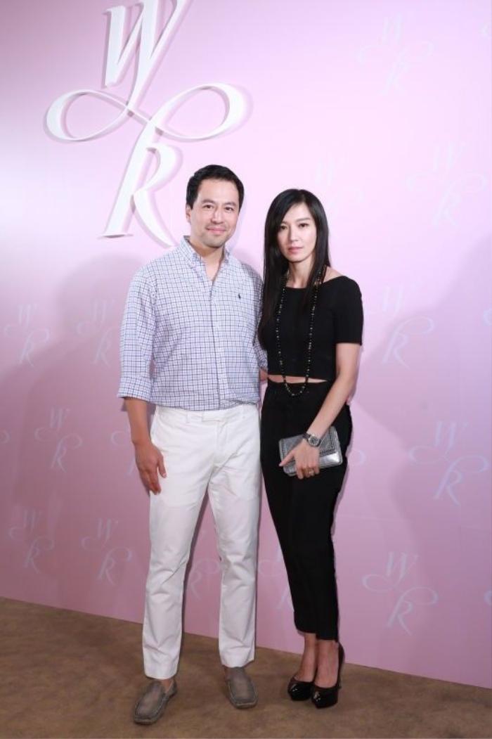 Vợ chồng Lâm Yến Lôi.