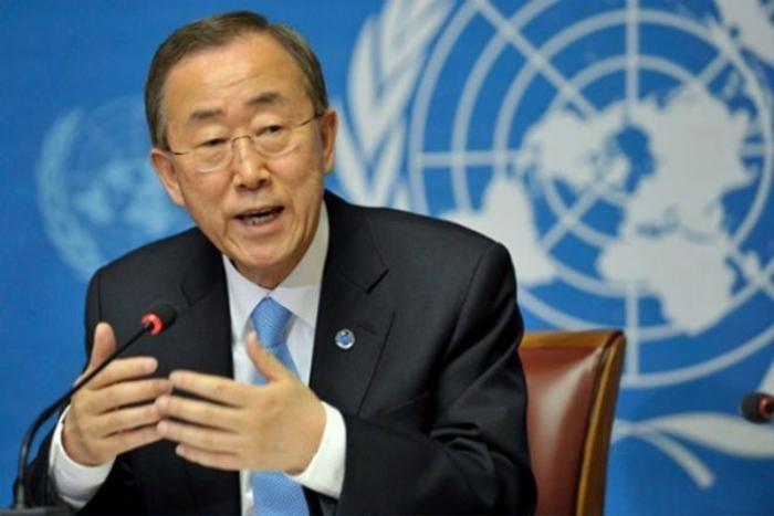 Tổng thư ký Liên Hợp Quốc Ban Ki-moon. Ảnh: medafricatimes