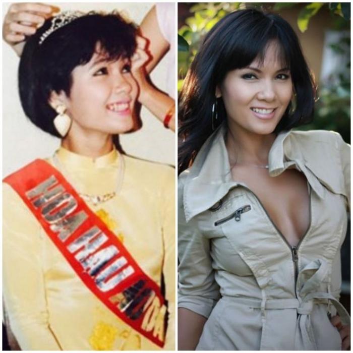 Hoa hậu Kiều Khanh 1989 và hiện tại
